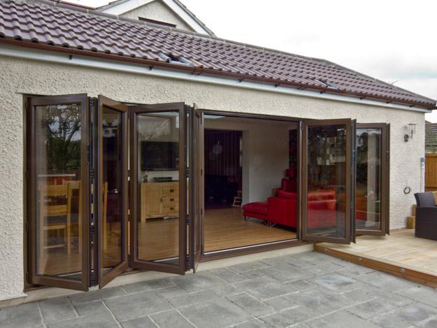 aluminium bi-fold doors prices derbyshire