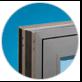 Stylish flush casement