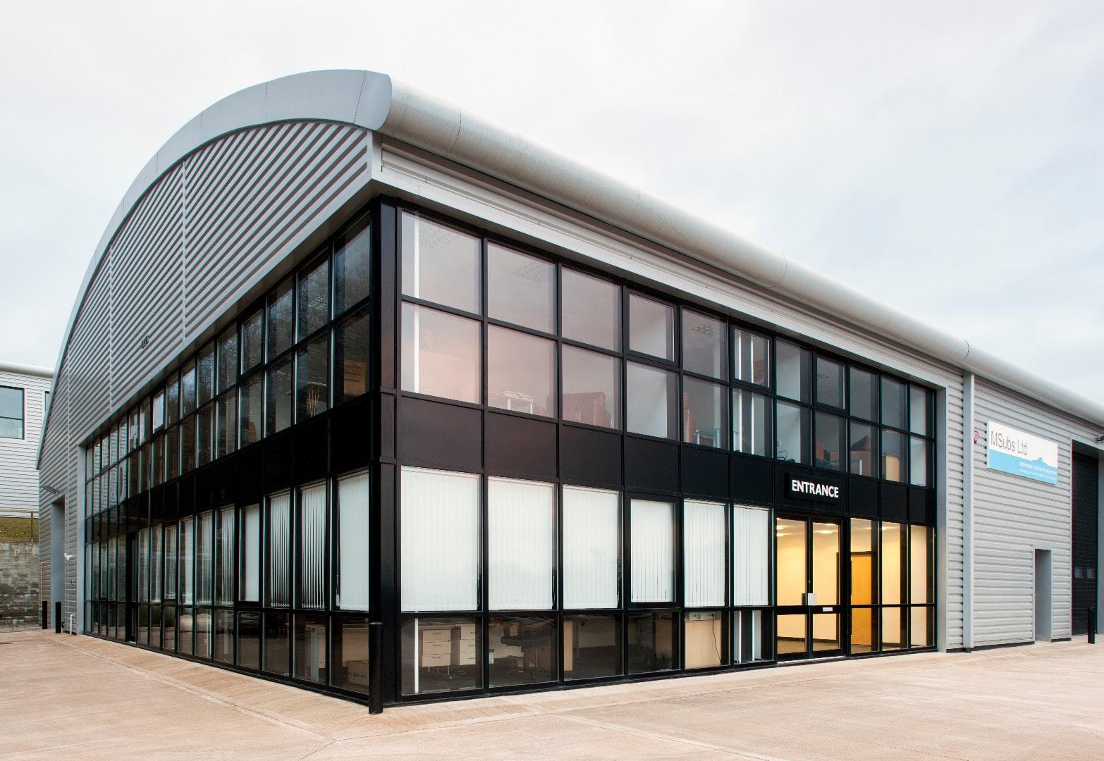commercial aluminium windows and doors derby